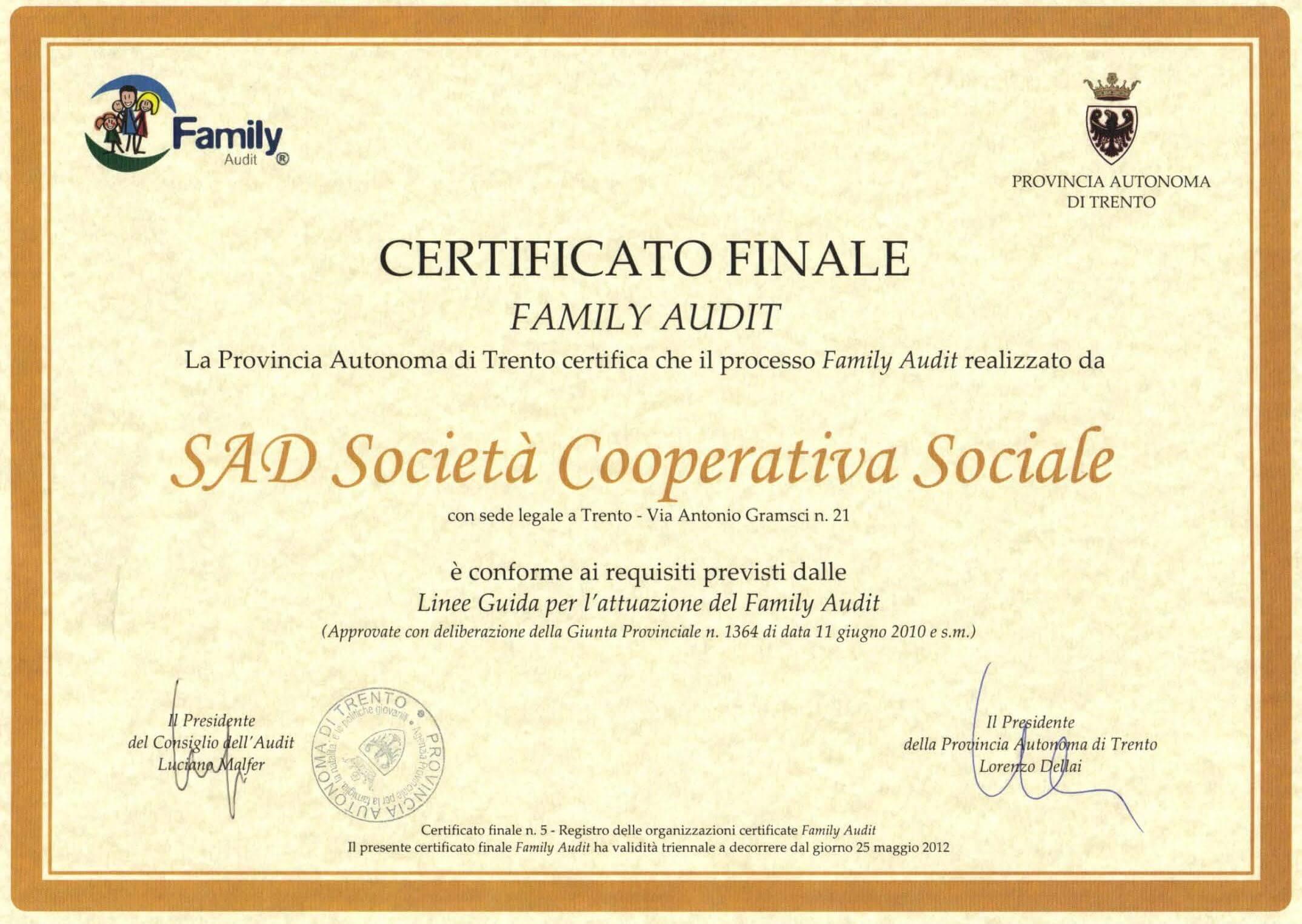 per sito certificato